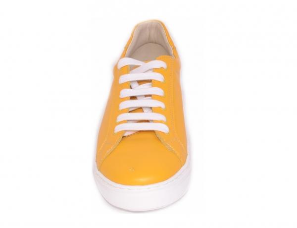 Pantofi Piele Naturala Veya 564 Galben 3