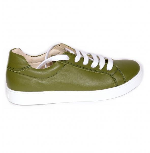 Pantofi Piele Naturala Veya 564 Verde 0