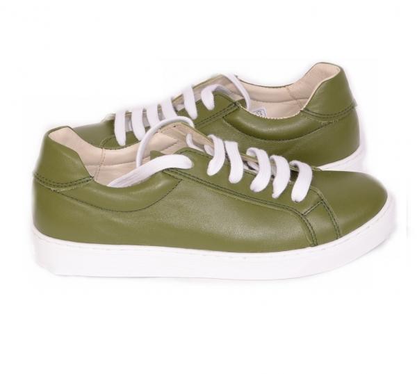 Pantofi Piele Naturala Veya 564 Verde 3