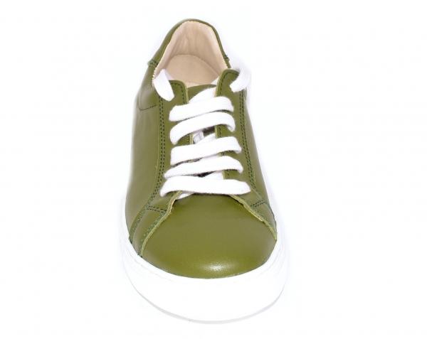 Pantofi Piele Naturala Veya 564 Verde 2