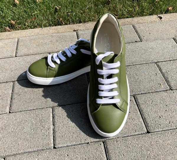 Pantofi Piele Naturala Veya 564 Verde 1