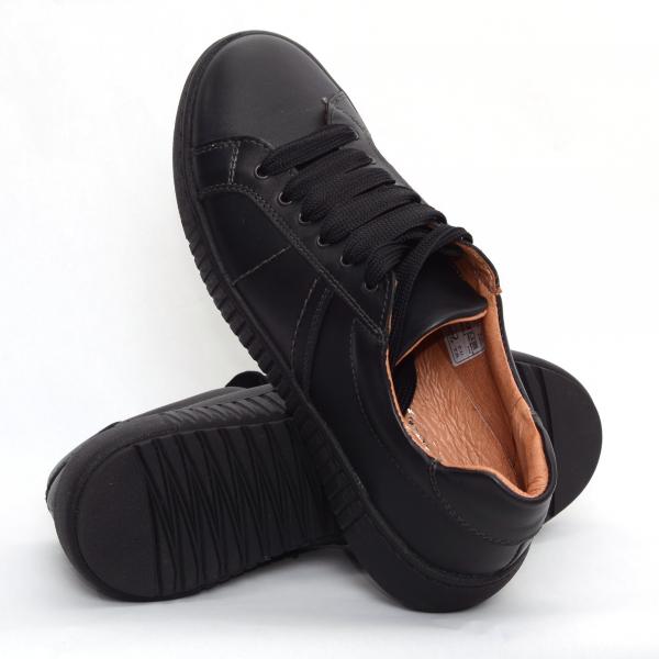 Pantofi casual dama 572 Negru 1