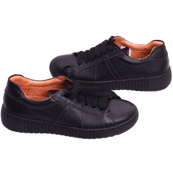 Pantofi casual dama 572 Negru 3