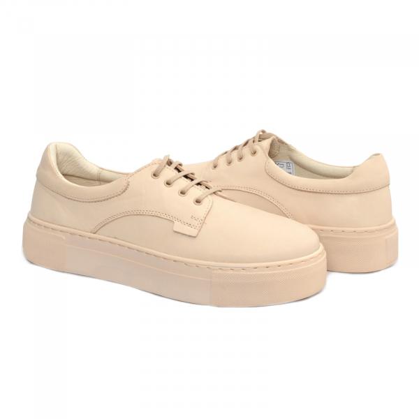 Pantofi casual dama 574 Bej 0