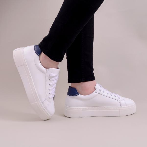 Pantofi casual dama 575 Alb 0
