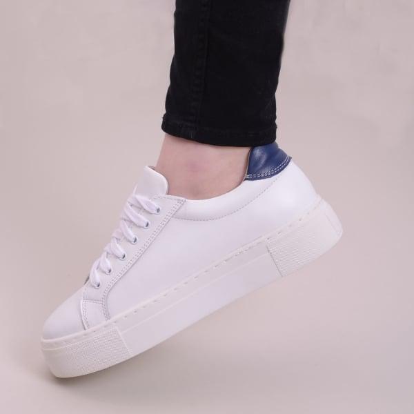 Pantofi casual dama 575 Alb 4