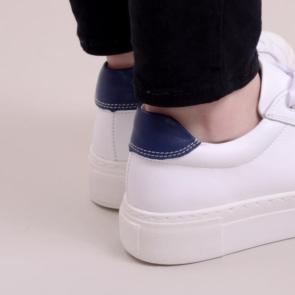 Pantofi casual dama 575 Alb 3