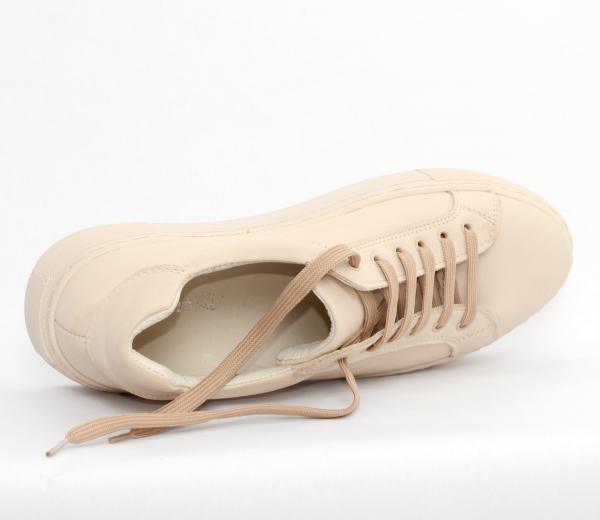 Pantofi casual dama 575 Bej 1