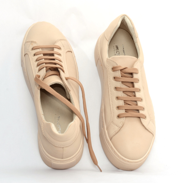 Pantofi casual dama 575 Bej 2