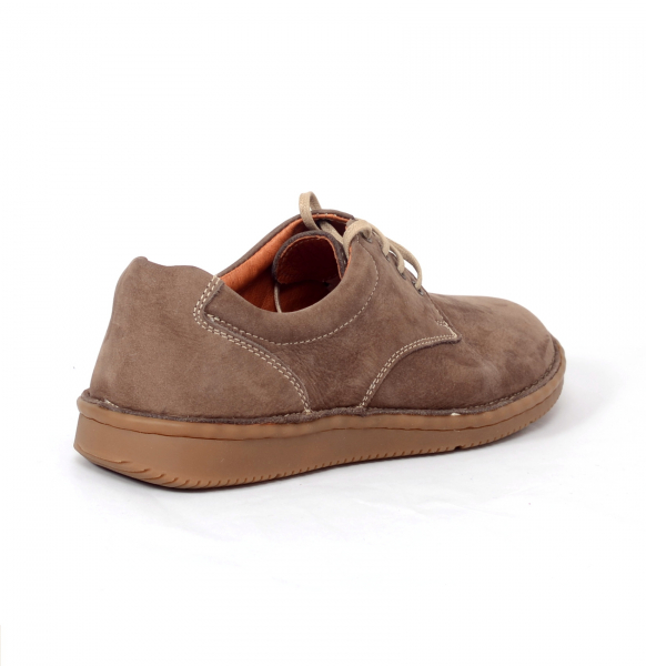 Pantofi casual dama 578 Maro- piele intoarsa 3