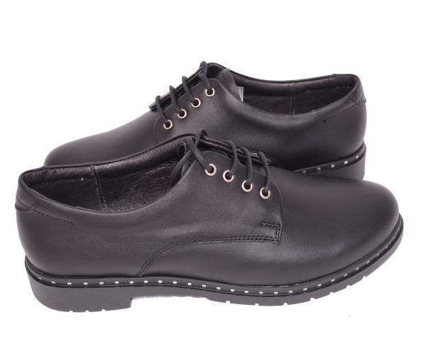 Pantofi casual dama 592 Negru 3
