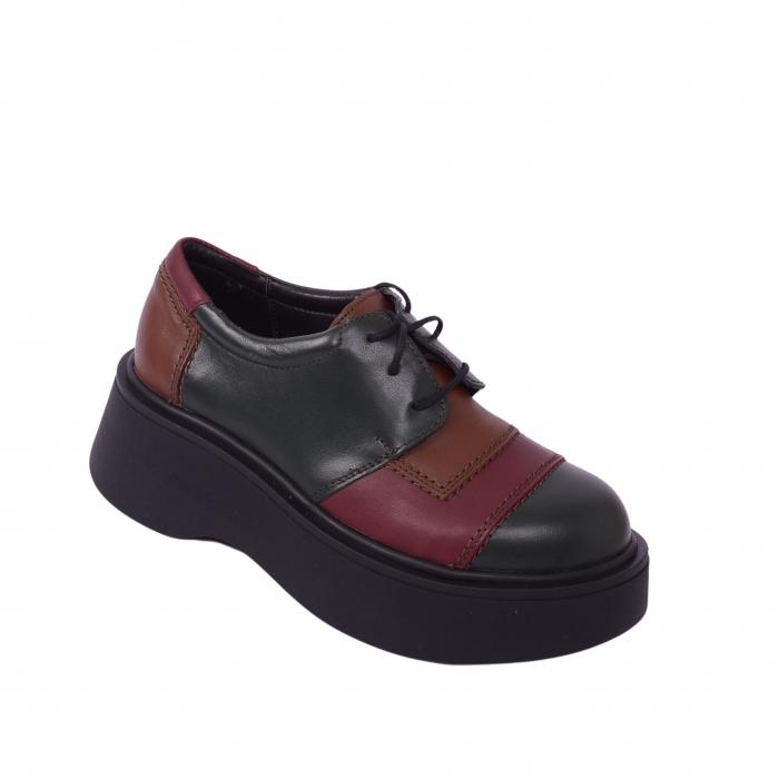 Pantofi casual dama 596 Color 1