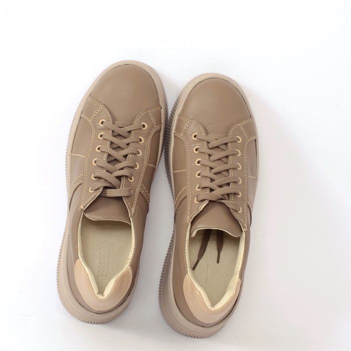 Pantofi casual dama 600 Bej 2