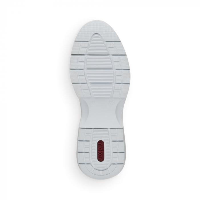 Pantofi sport din piele naturala Rieker 59426-60 7