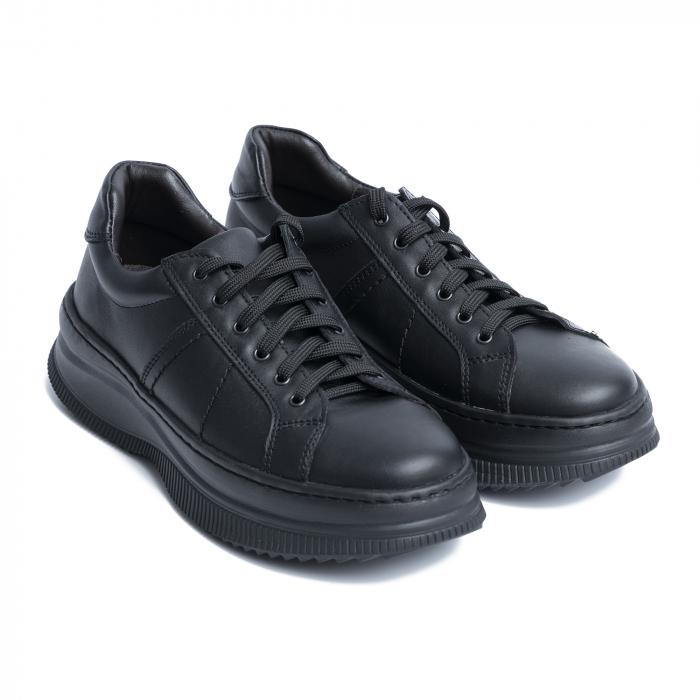 Pantofi casual dama 600 Negru [4]