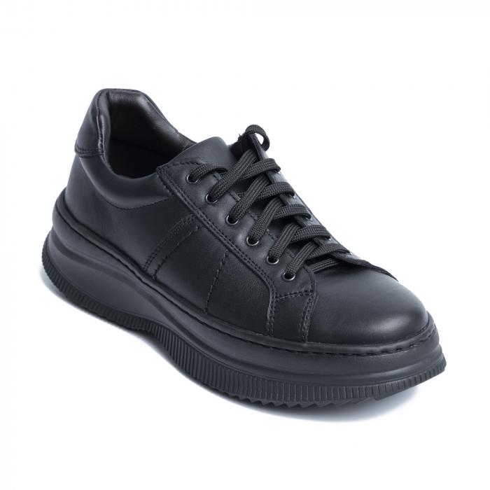 Pantofi casual dama 600 Negru [3]
