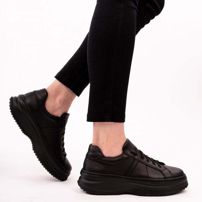 Pantofi casual dama 600 Negru [0]