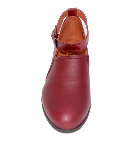 Pantofi confortabili dama 557 Bordo 2