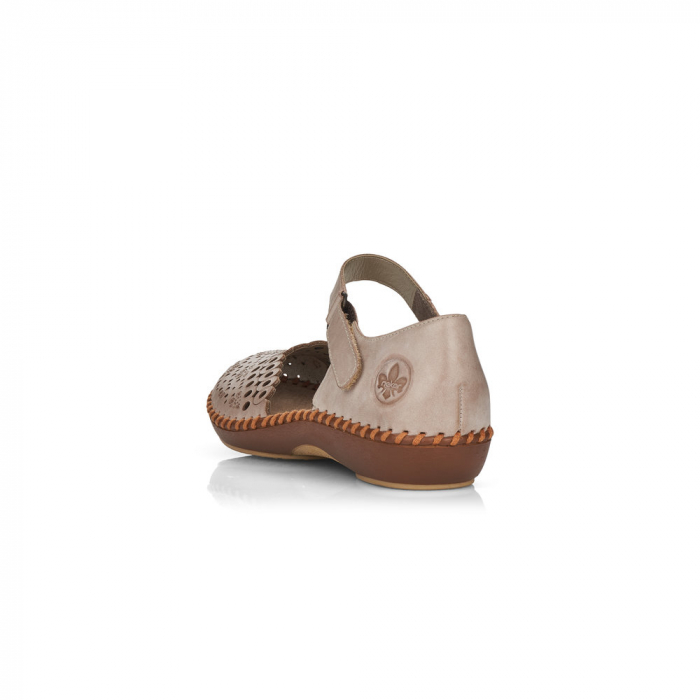 Pantofi de piele naturala Rieker M1656-62 3