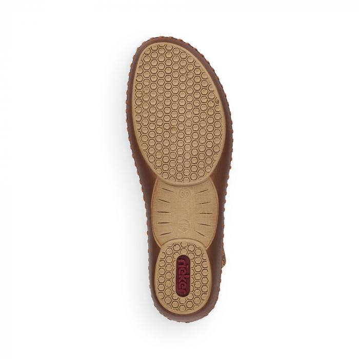 Pantofi de piele naturala Rieker M1656-62 7