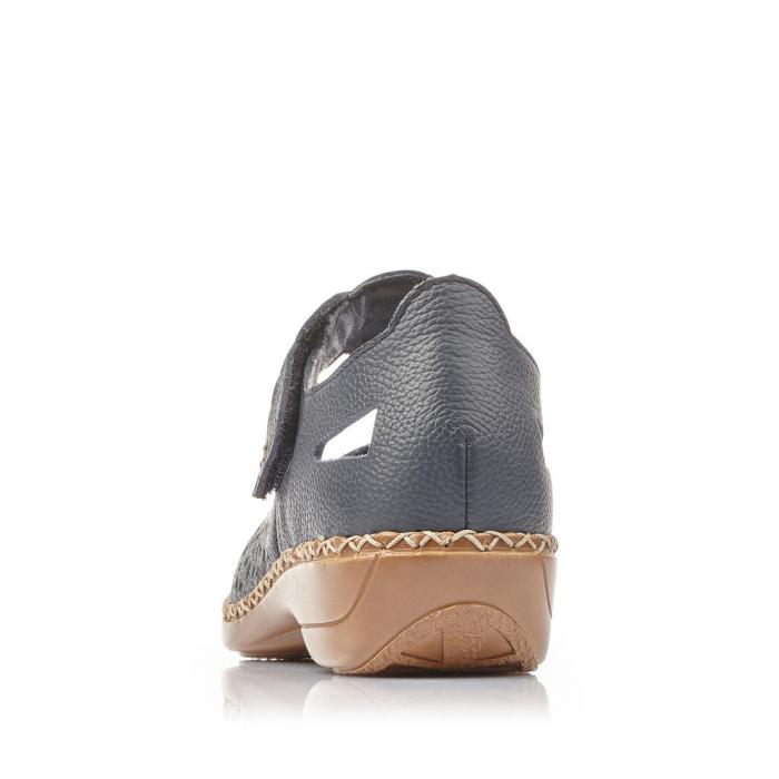 Pantofi de piele naturala Rieker 41399-14 [4]