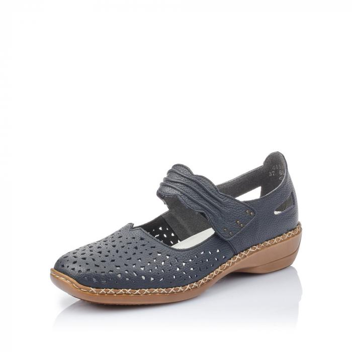 Pantofi de piele naturala Rieker 41399-14 [3]