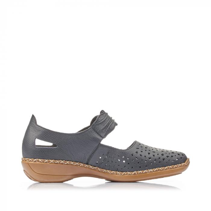 Pantofi de piele naturala Rieker 41399-14 [2]