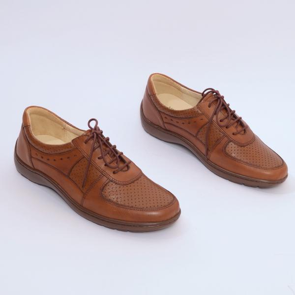 Pantofi din piele Medline Confort 445 1