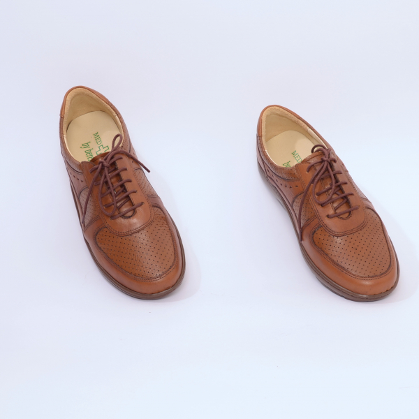 Pantofi din piele Medline Confort 445 2