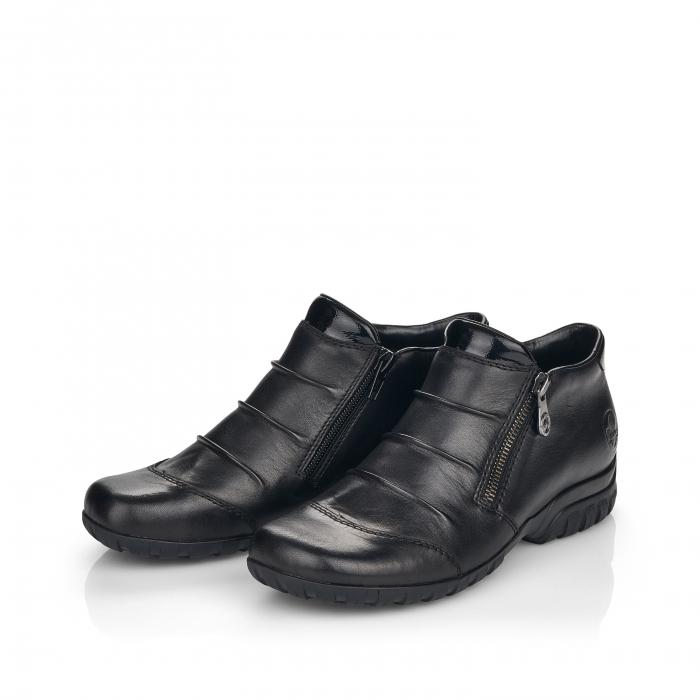 Pantofi din piele naturala Rieker L4671-00 [7]