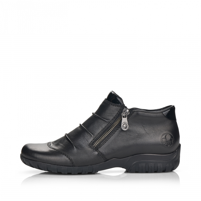 Pantofi din piele naturala Rieker L4671-00 [4]
