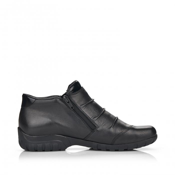Pantofi din piele naturala Rieker L4671-00 [1]