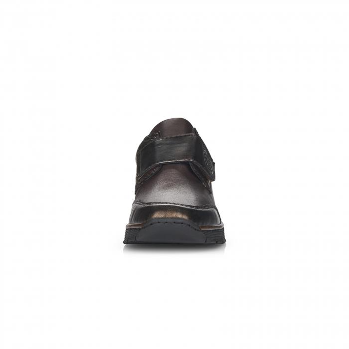 Pantofi din piele naturala Rieker 53750-25 Maro Inchis [6]