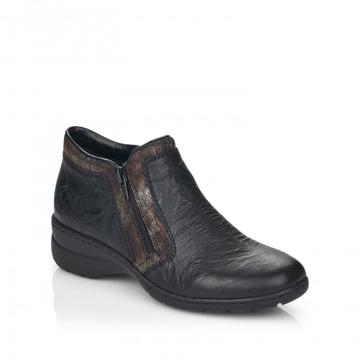 Pantofi din piele naturala Rieker L4382-00 [0]