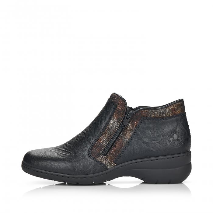 Pantofi din piele naturala Rieker L4382-00 [4]