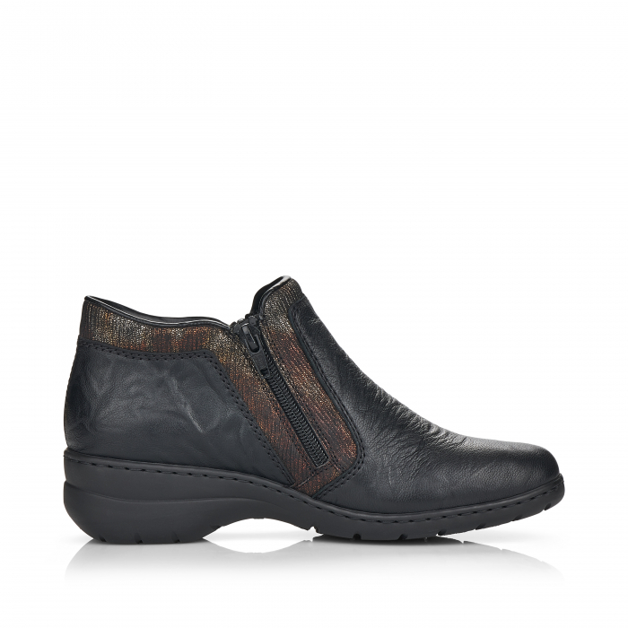 Pantofi din piele naturala Rieker L4382-00 [1]