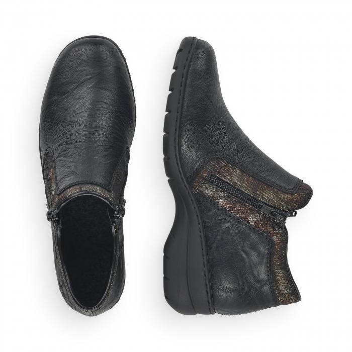 Pantofi din piele naturala Rieker L4382-00 [8]