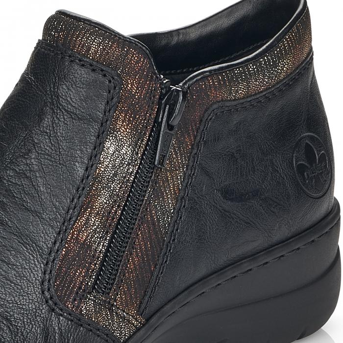 Pantofi din piele naturala Rieker L4382-00 [10]