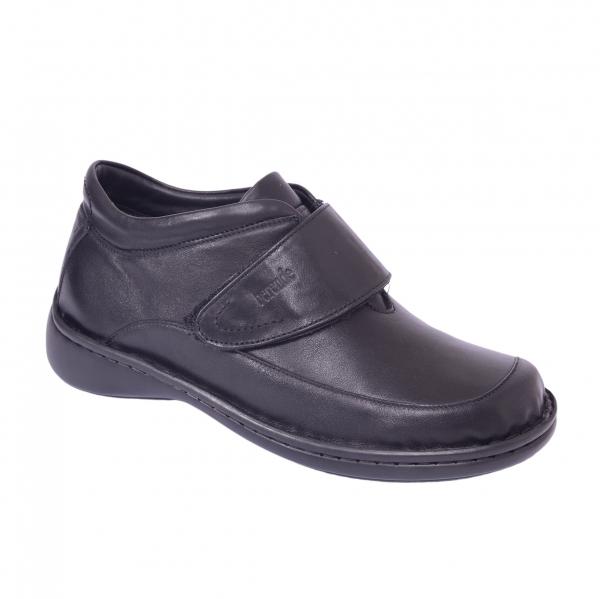 Pantofi piele Medline Confort 476 Negru [1]