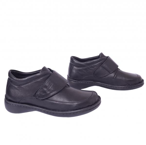 Pantofi piele Medline Confort 476 Negru [0]