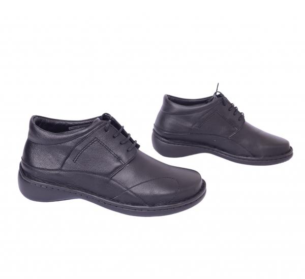 Pantofi piele Medline Confort 477 Negru 0