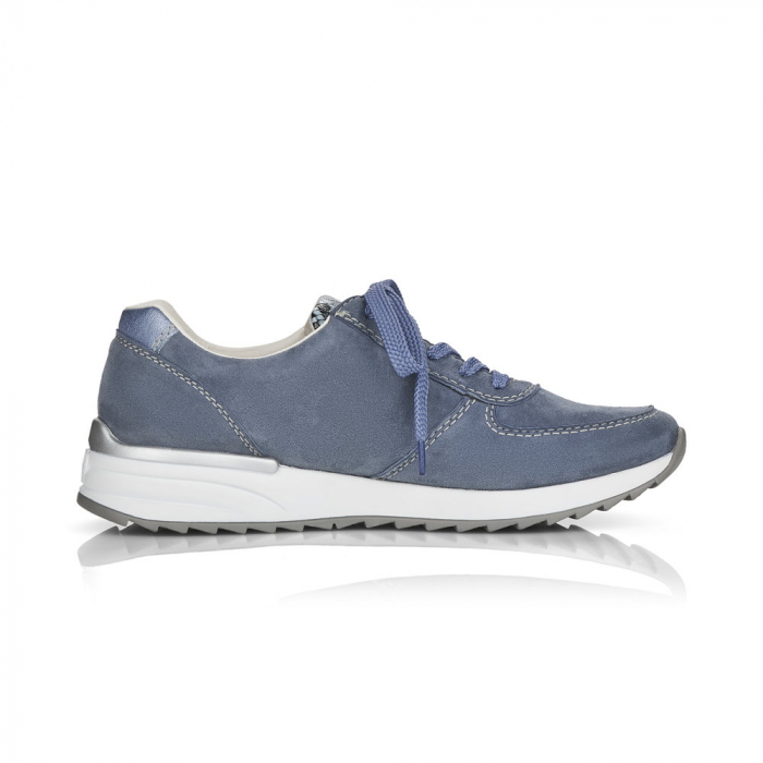 Pantofi sport din piele naturala Rieker N8024-10 1