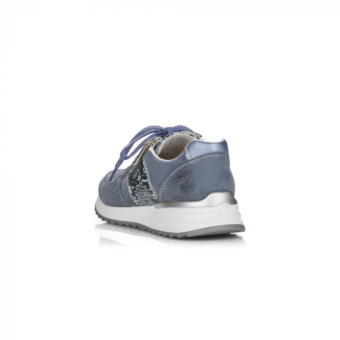 Pantofi sport din piele naturala Rieker N8024-10 3