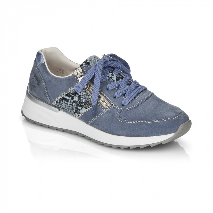 Pantofi sport din piele naturala Rieker N8024-10 0