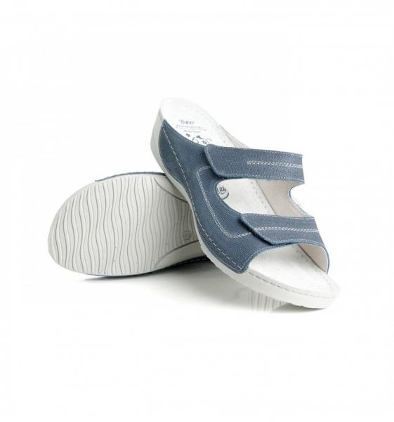 Papuci confortabili Batz Olivia EX1K5 Albastru 2