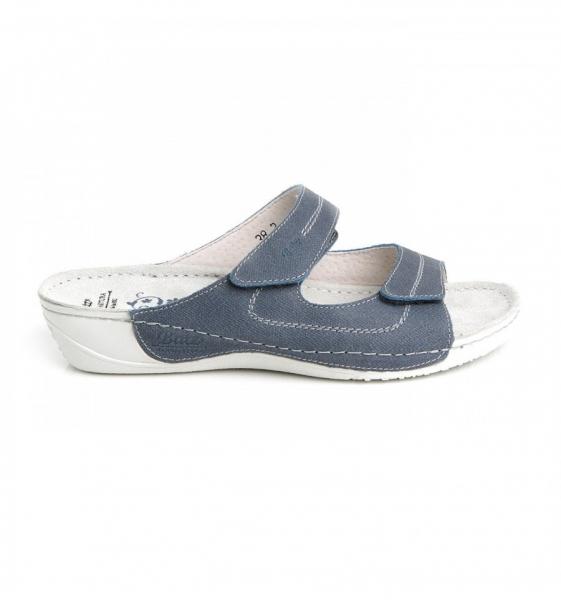 Papuci confortabili Batz Olivia EX1K5 Albastru 1