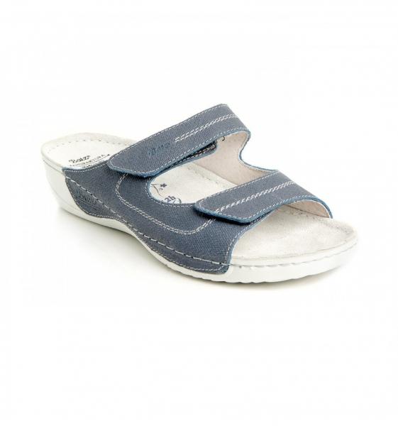 Papuci confortabili Batz Olivia EX1K5 Albastru 0