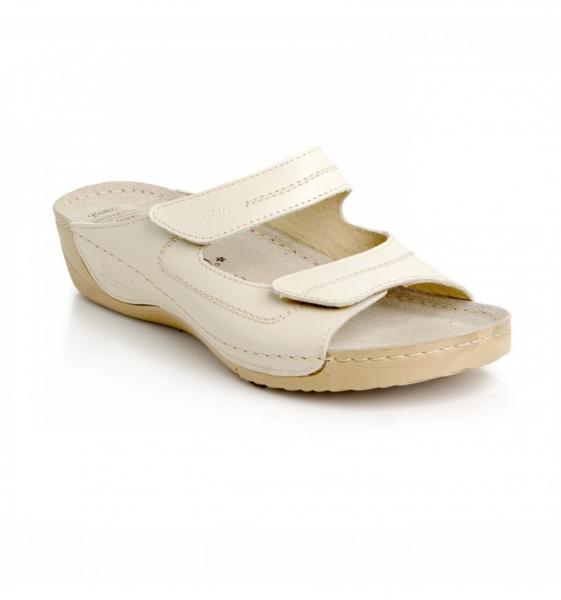Papuci confortabili Batz Olivia EX1K5 Bej 0