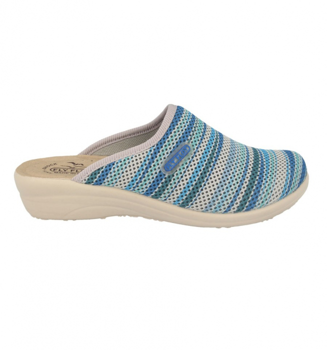Papuci confortabili Fly Flot 069 albastru [1]