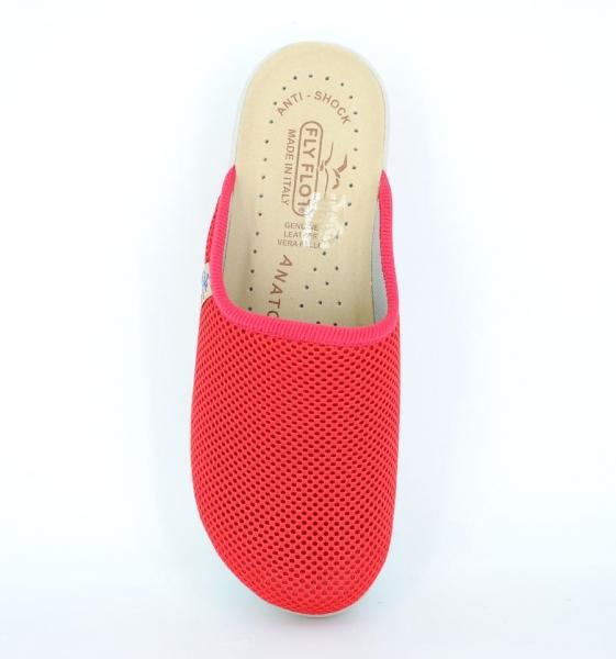 Papuci confortabili Fly Flot 030  Rosu 2
